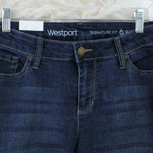 ✔ Westport Women's Signature Fit Boyfriend Sz 6